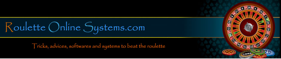 Roulette online systems